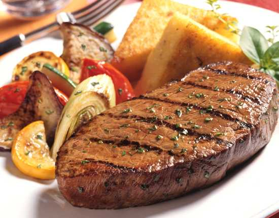 Grilled Pepper Steak