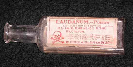 Laudanum Bottle Cropped