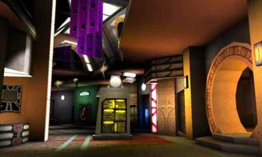 Deep Space 9 Promenade The Fallen