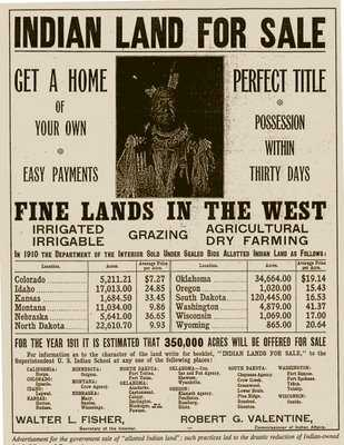 Indian Land Theft Sale