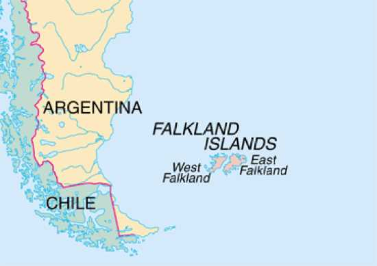 Falkland Islands Map