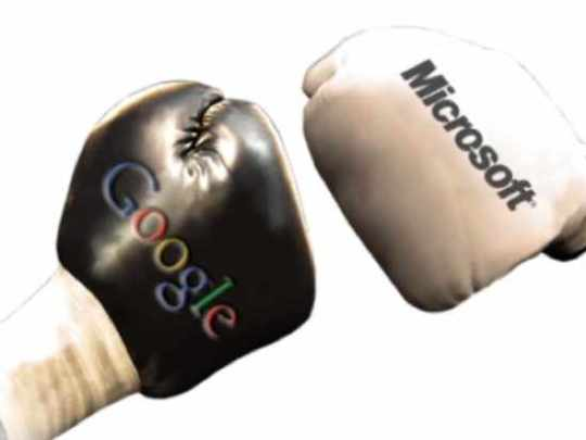 Google-Microsoft-Boxing