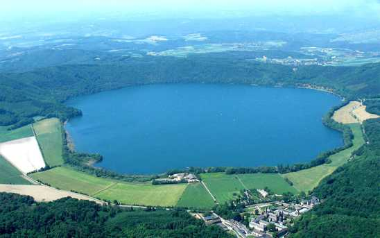 Wallpapers Laach Lake - Volcano Caldera