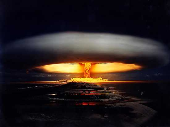 Tsar-Bomba Digitally Enhanced Nuclear Bomb Picture