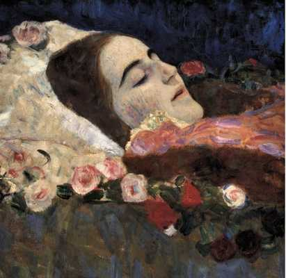 Gustav-Klimt--Ria-Munk-On-Her-Deathbed-By-Savio-S-Vintage-Art-Qpps 411393873630167