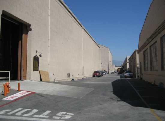 Warner Bros Studio Lot