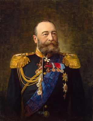Pershakov Alexander Fyodorovich-Zzz-Portrait Of Admiral E. I