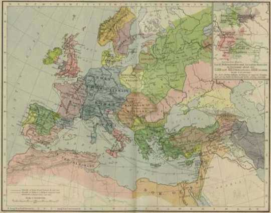 Europe Mediterranean 1190