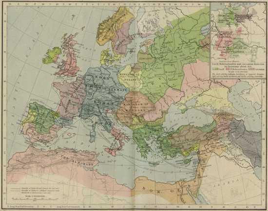 Europe Mediterranean 1190