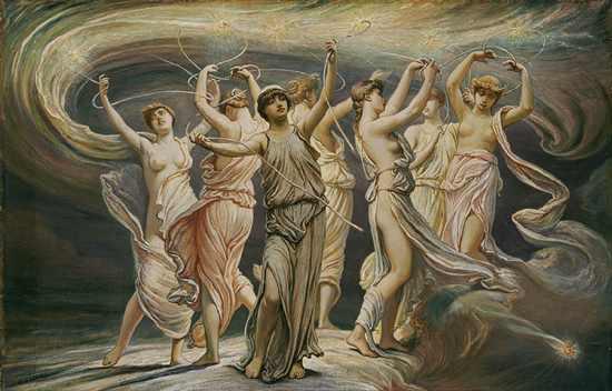 Pleiades Elihu Vedder