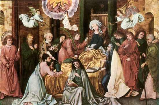 Hans-Holbein-The-Elder-Death-Of-The-Virgin