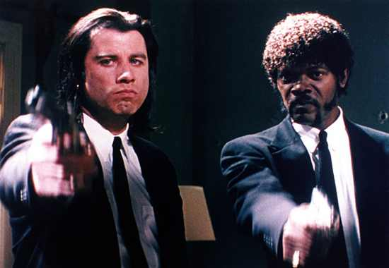 Pulp Fiction Jackson Travolta