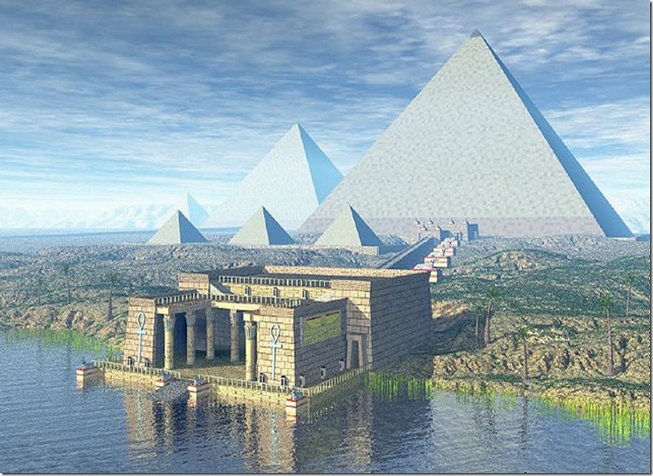 Now that's a dodgy Giza: Eggheads claim Great Pyramid can focus electromagnetic waves