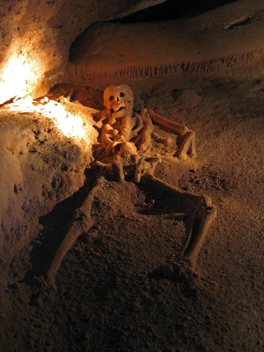 Young female human sacrifice naked tube