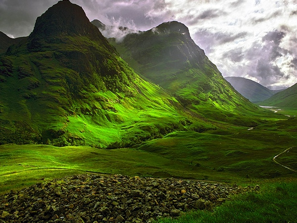 Clearing Storm Glencoe, Glencoe, Scotland  Wallpaper Ih1Lq