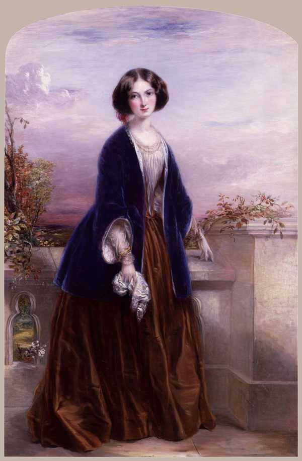 Euphemia %28%27Effie%27%29 Chalmers %28N%C3%A9E Gray%29%2C Lady Millais By Thomas Richmond