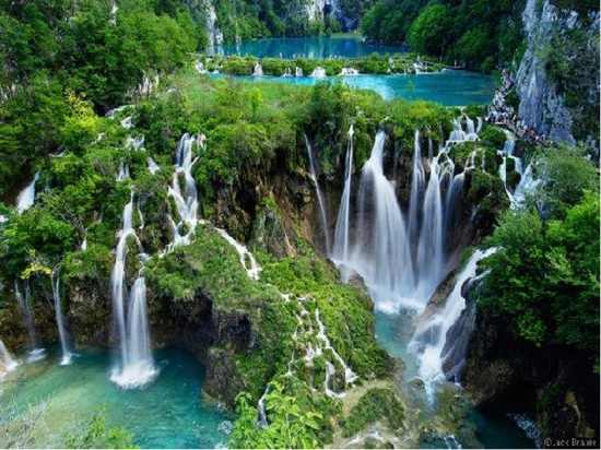 Krka-Croatia-Plitvice-Falls-Wallpaper