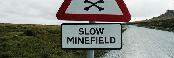 Mine Sign