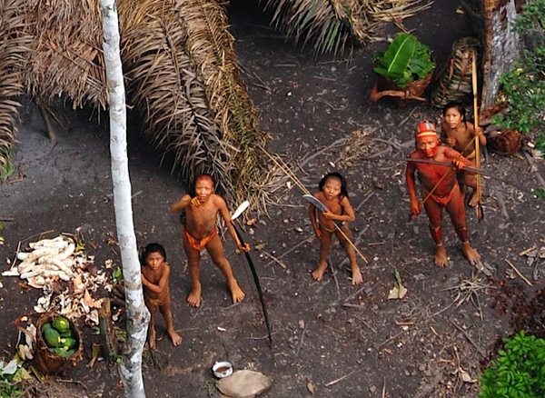 Uncontacted Family-Closeup