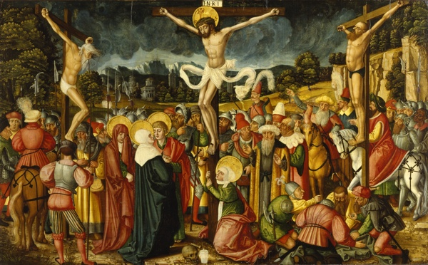 Peter Gertner - Crucifixion - Walters 37246