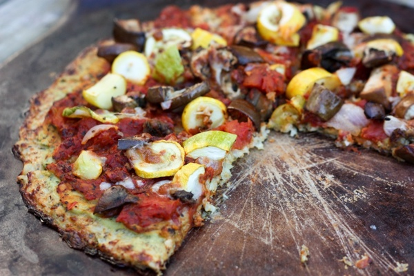 Cauliflower-Pizza-Crust-Pizza