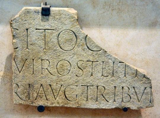 Roma Tacitus Inscr Mus Thermae