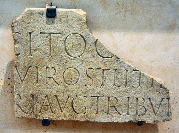 Rome Tacitus Inscr Mus Thermae