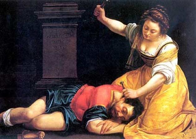 Jael- Jael And Sisera Artemisia Gentileschi