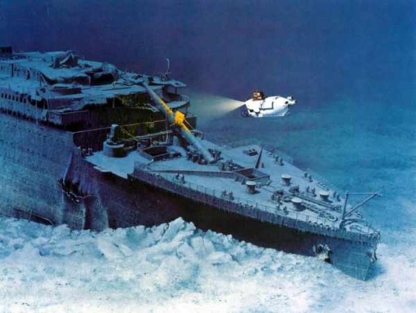 Titanic Wreck Marschall 1