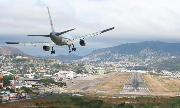 Toncont N International Airport Tegucigalpa Honduras