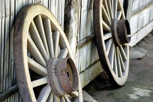 Wagon-Wheel-Effect