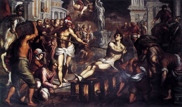 14879-The-Martyrdom-Of-St-Lawrence-Palma-Giovane