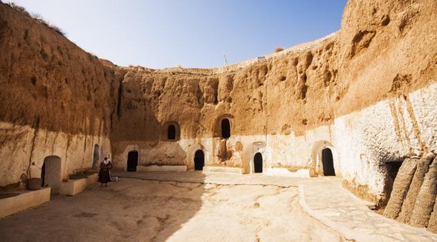 Matmata-Caves-Tunisia