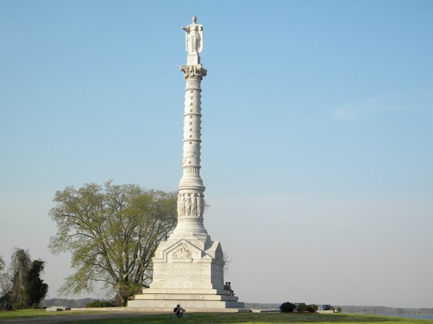 Yorktown Battlefield Monument By Ladybug1985-D3G5H19
