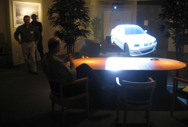 3d-holographic-projection-car
