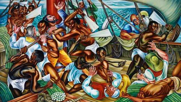10 incredible slave rebellions listverse for Atlanta oil painting artists