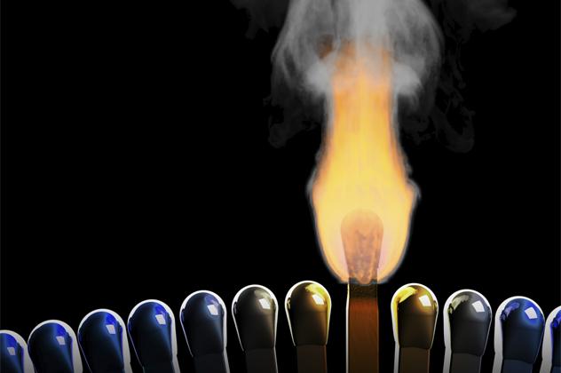 8- matchstick