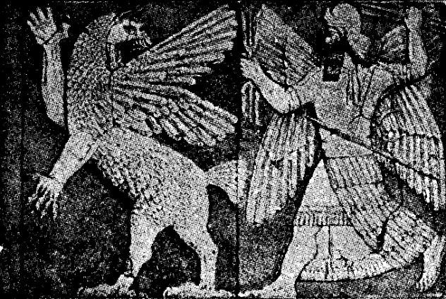 Bildhuggarkonst,_Marduks_strid_med_draken,_Nordisk_familjebok