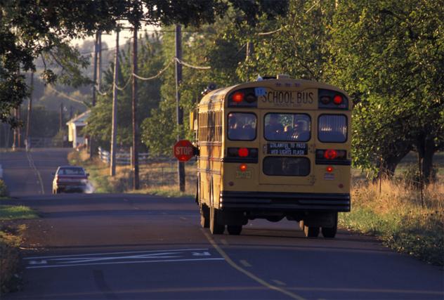 6- school bus