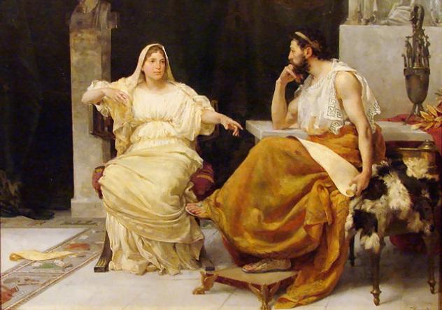 José_Garnelo_y_Alda_-_Aspasia_y_Pericles