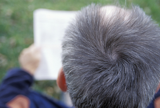 Why does hair turn gray