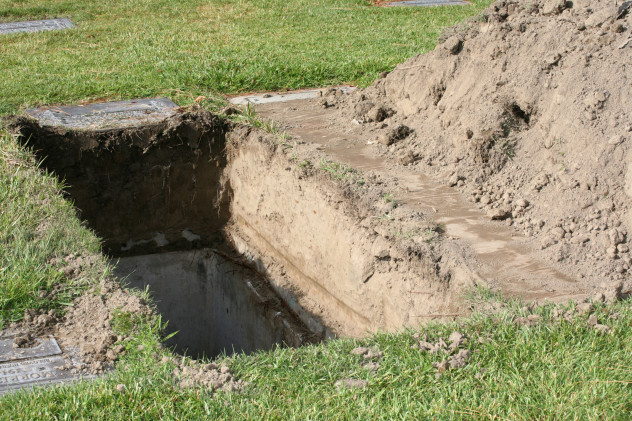 4 six feet deep