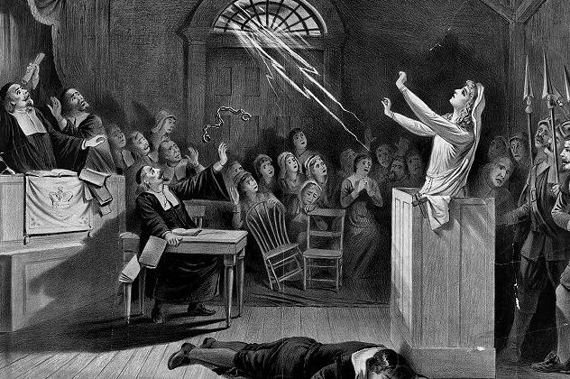 1- witch trials
