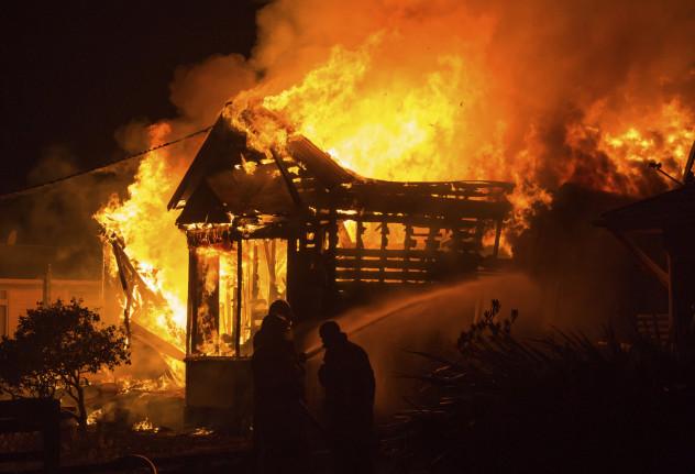 9 house fire