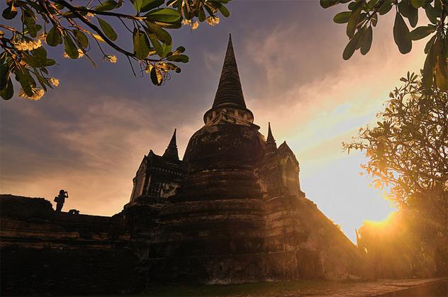 1- Wat Phra Si Sanphet