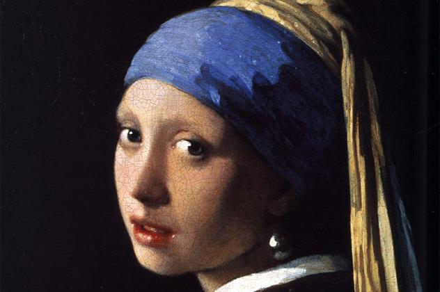 1- pearl earring