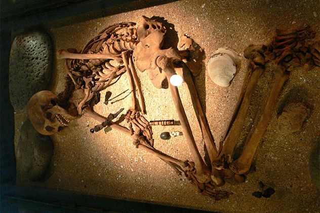 5- burials