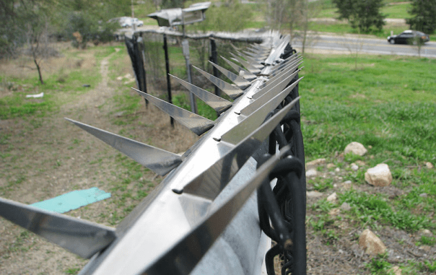 Bladed Fence