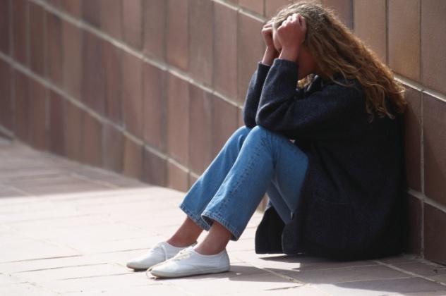 Distressed Jugendliche