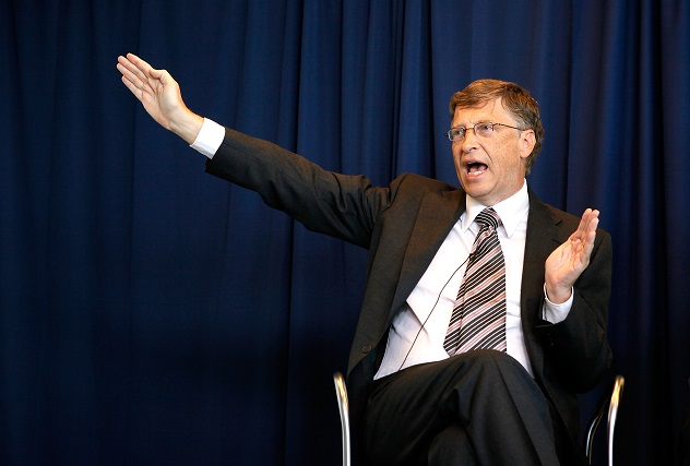 Bill Gates, Major CEO's Hold DC News Conference On U.S. Energy Innovation
